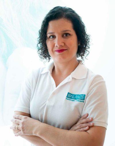Mª del Mar Sánchez, Especialista en Fisioterapia respiratoria
