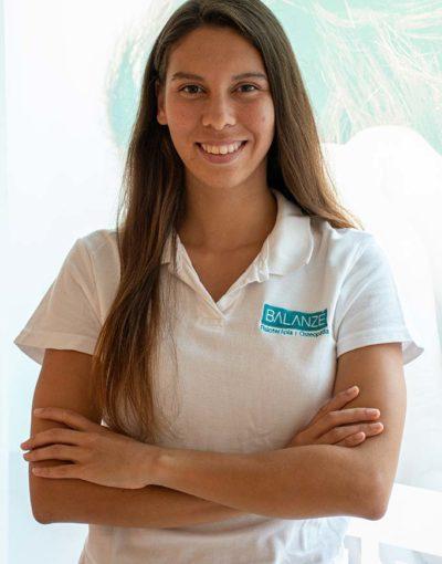 Naomi Martínez, fisioterapeuta deportiva en Balanzé