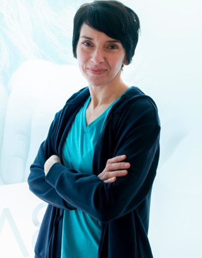 Àngels Moreno, entrenadora y monitora de Yoga en Balanzé
