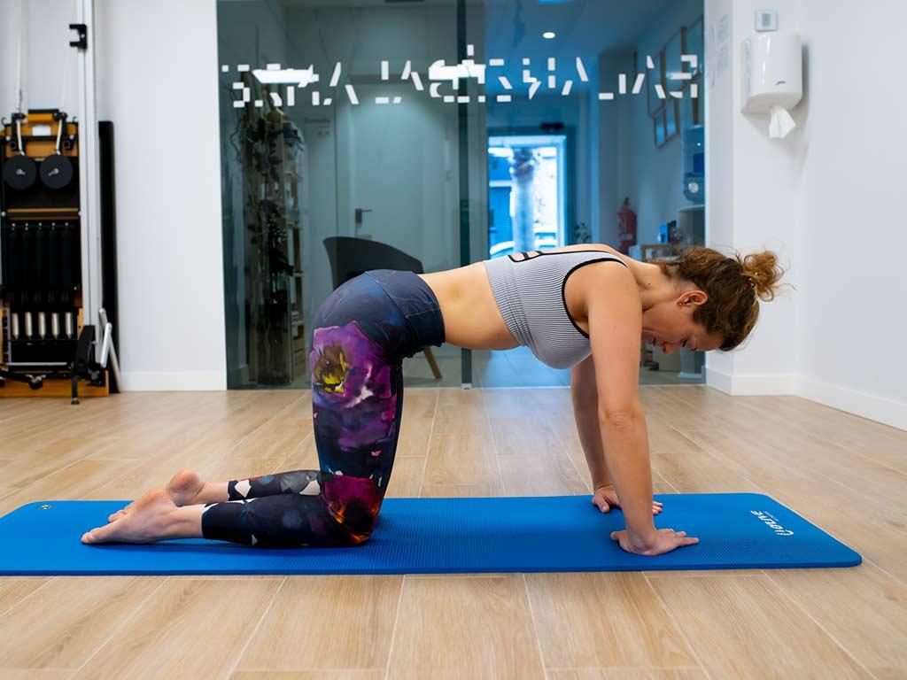 Actividad hipopresivos nivel medio en Balanzé