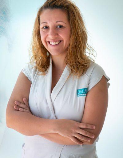 Isabel Resina, Fisioterapeuta especialidad deportiva