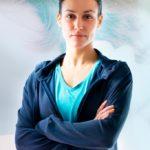 Laura Correa, instructora en actividades dirigidas