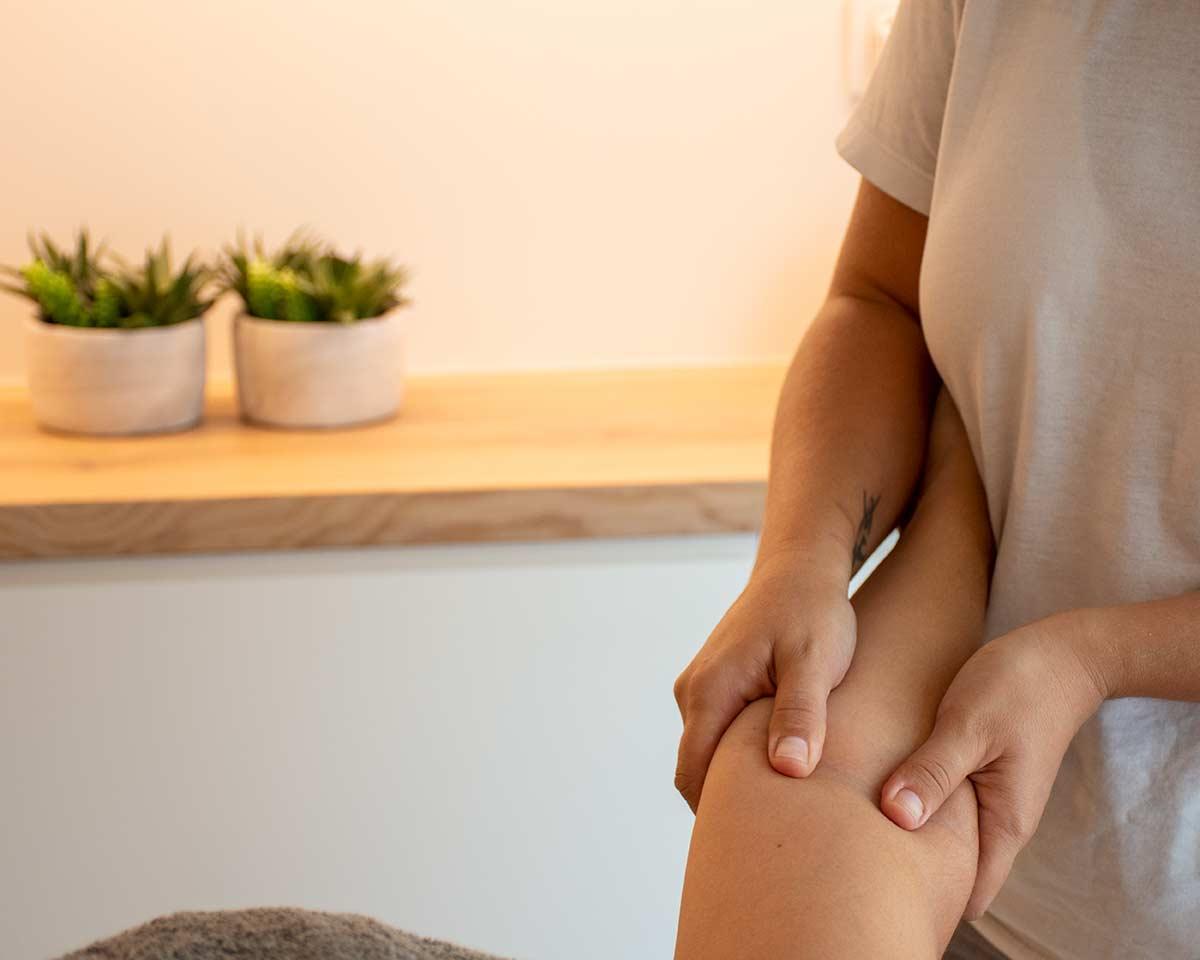 Tratamiento de Drenaje linfático aplicado a extremidades superiores