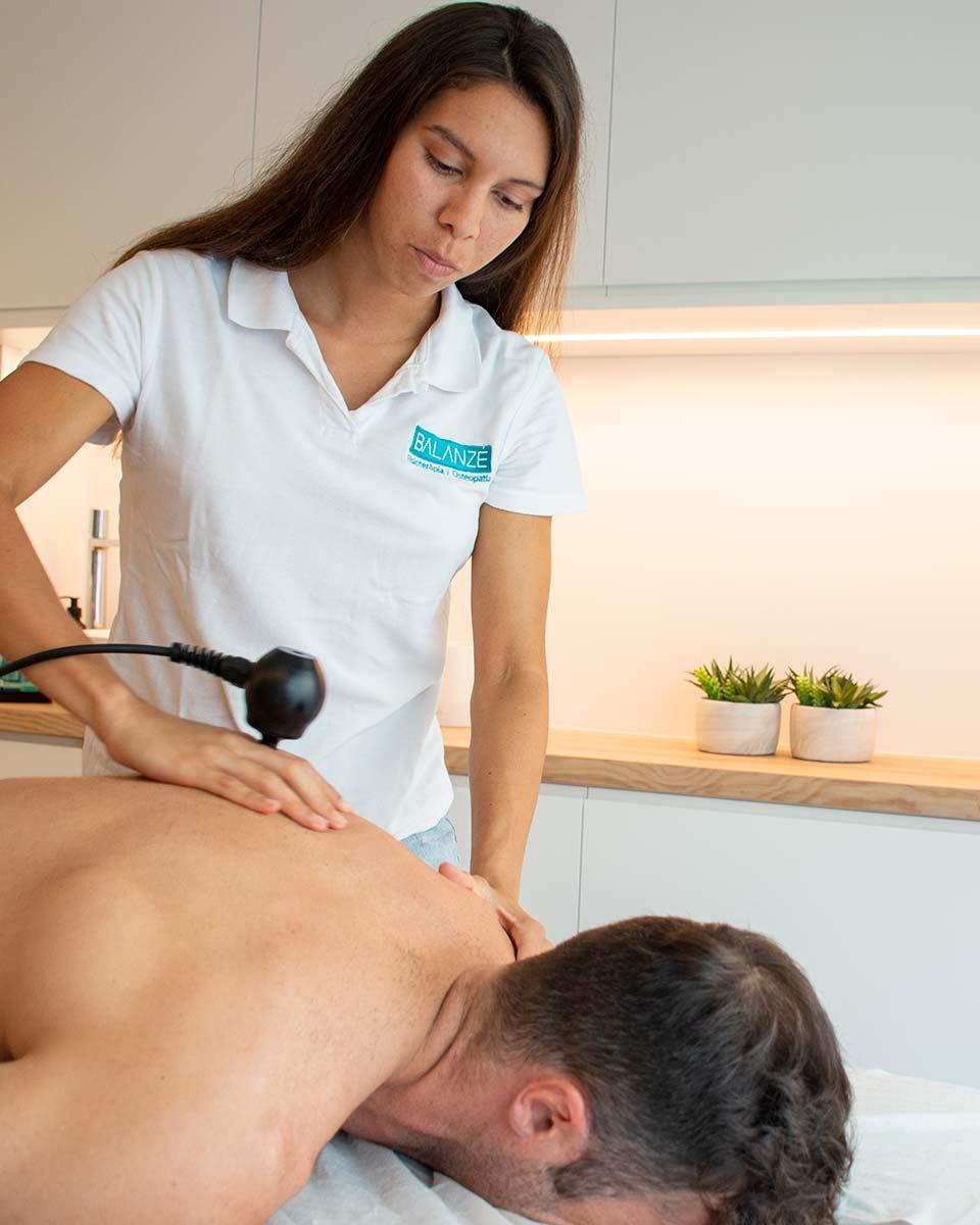 Técnicas de fisioterapia con Winback