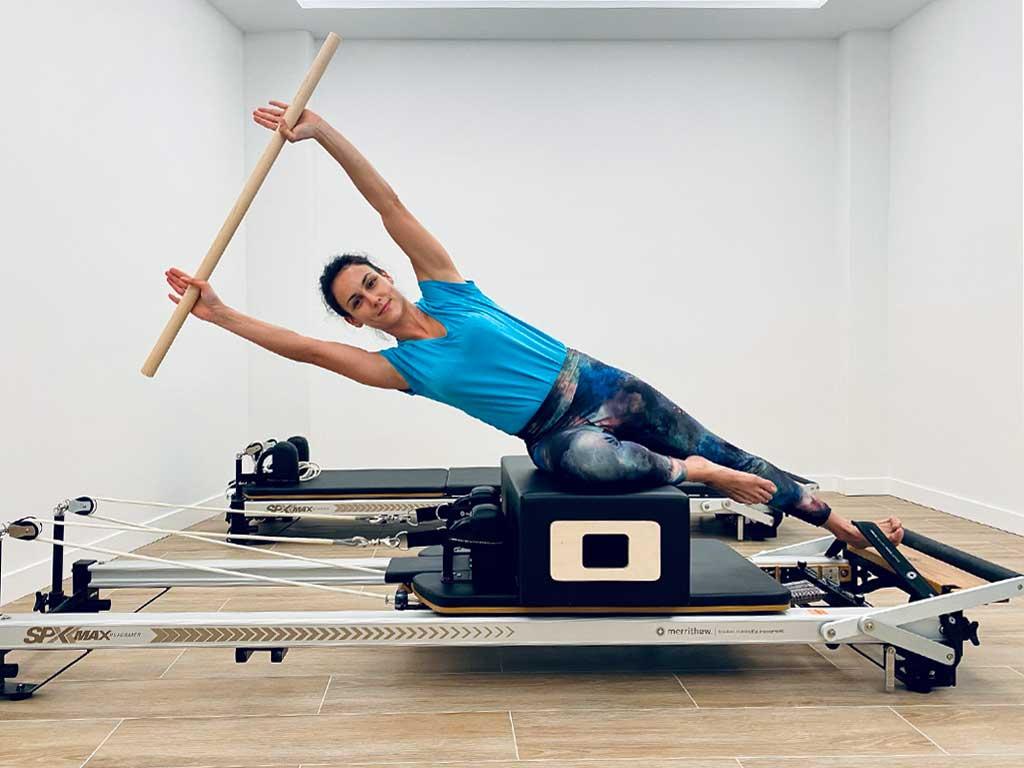 Clase de espalda Sana con reformer de pilates